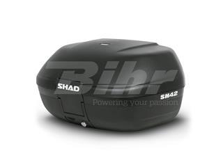 Baúl SHAD SH42 42L con capacidad para 2 cascos integrales