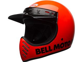 Casque BELL Moto-3 Classic Neon Orange taille XL - 7081031