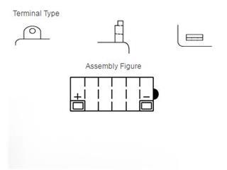 Batterie YUASA 12N9-4B-1 conventionnelle - 618b5148-a2b6-4448-8830-0ba7a555a6ea