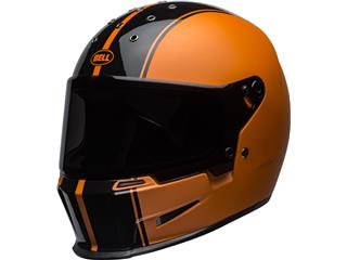 BELL Eliminator Helm Rally Matte/Gloss Schwarz/Orange Größe XXXL