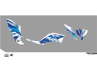 Kit déco KUTVEK Rotor bleu Yamaha YFM250 Raptor