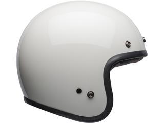 Casque BELL Custom 500 DLX Solid Vintage White taille XL - 61ab0981-6c21-458e-891e-d950d3e32555