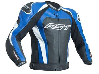 RST TracTech Evo 3 Jacket CE Leather Blue Size S Men