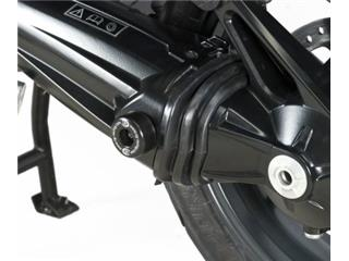 R&G RACING Swingarm Protection Black Triumph