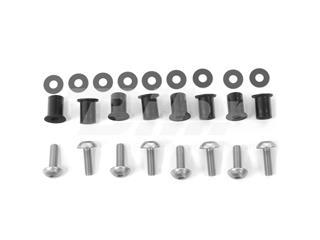 Kit parafusaria viseira alumínio Pro-Bolt prata SK10S - 6270b387-65c0-465f-ac39-c99c685a0bcc