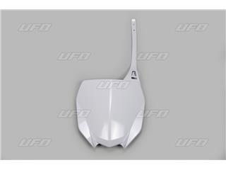 Plaque numéro frontale UFO blanc Yamaha YZ450F - 78429614