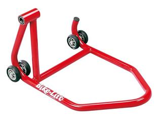 BIKE LIFT One Armed Rear Stand Left Hand Hold Red