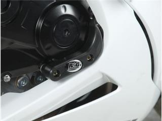Slider moteur droit R&G RACING noir Suzuki GSX-R600