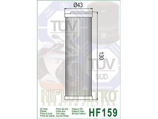 HIFLOFILTRO HF159 Oil Filter Ducati Panigale 899/1199 - 638d8aa9-c858-4fbc-a6d5-d7a8fb290dbc