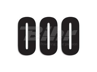 Números de carrera negro - Pack de 0-9,3uds Blackbird Crystal 5027/20/0-9