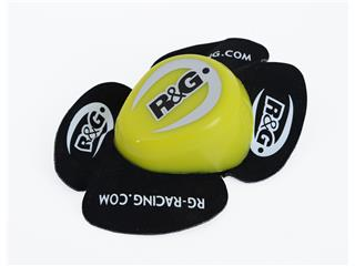 R&G RACING Aero Knee Sliders Yellow