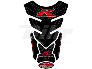 Protector de depósito Motografix SUZUKI 4 piezas Negro