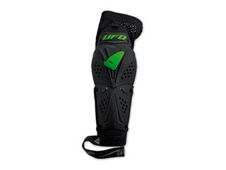 UFO Professional EVO Elbow Guards Black/Green Size L/XL