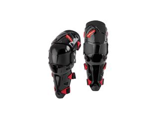 Polisport black/red Prime knee guards L/XL size