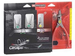 FACOM Circlips® pliers set - 4 pieces