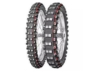 MITAS Tyre TERRA FORCE-MX MH - Medium To Hard - 100/100-18 M/C 59M TT red