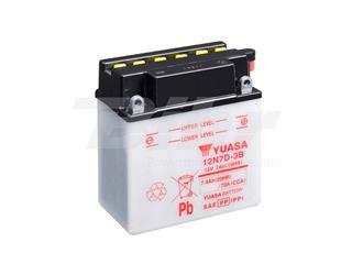 Batería Yuasa 12N7D-3B Combipack (con electrolito)