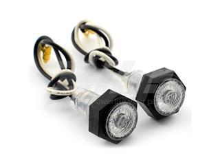 Micro luces de posición blanca 1 led 1W - 11414