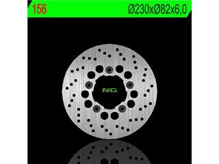 Disque de frein NG 156 rond fixe - 350156