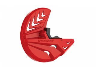 Protection de bas de fourche + disque POLISPORT rouge Honda CRF450/250R - 4430014003