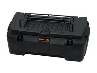 KOLPIN Rigid Storage Box ATV/UTV Black 156L