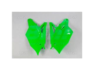 Paneles laterales traseros UFO Kawasaki verde - 11922