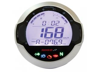 Koso D64 GP Style universal round multi-function LCD digital meter - 4491370
