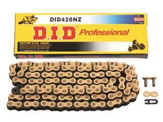D.I.D 428 NZ Ketting Goud/Zwart 100 Schakels RJ Clip