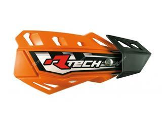 Protège-mains RACETECH FLX orange réglable - 789666
