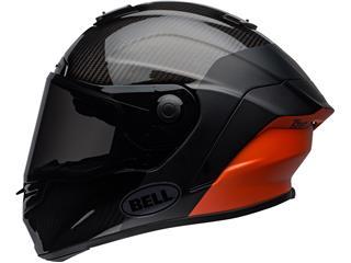 BELL Race Star Flex DLX Helmet Carbon Lux Matte/Gloss Black/Orange Size XL - 65ec4203-d7e4-483b-a191-91281fc402e1