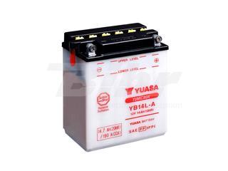 Batería Yuasa YB14L-A Dry charged (sin electrolito)