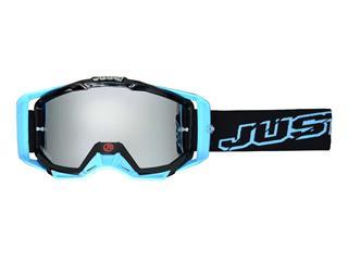 Masque JUST1 Iris Neon noir/bleu