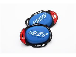 RST Factory Reverse Velcro Knee Sliders Blauw - 821000040701