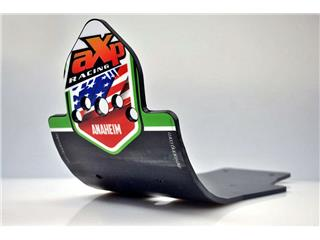 AXP Anaheim HDPE MX Glide Plate Black/Green Sticker Kawasaki KX450F