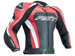 Veste RST Tractech Evo 3 CE cuir rouge taille 3XL homme