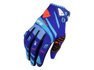 UFO Trace Gloves Blue Size 8