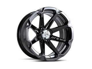 Jante utilitaire MSA WHEELS M12 Diesel aluminium noir 14x7 4x110 4+3