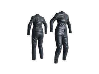 Pantalon RST Ladies Kate cuir noir taille S femme - 6746d8b8-3305-4463-9a89-61d3070ea699