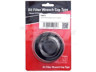 Llave de filtros de aceite Ø74 con 15 aristas - 6751a4c4-f657-42fb-a26b-037f33e4d3a7