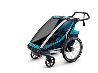 CYKELVAGN THULE CHARIOT SPORT 1-BARN BLÅ