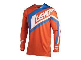 Maillot LEATT GPX 4.5 Lite orange/denim taille S