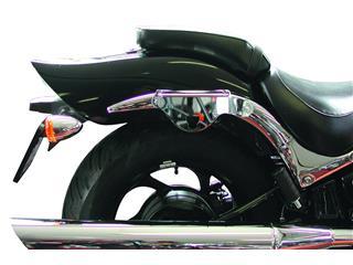 KLICBAG Saddlebag Bracket Set Chrome Suzuki