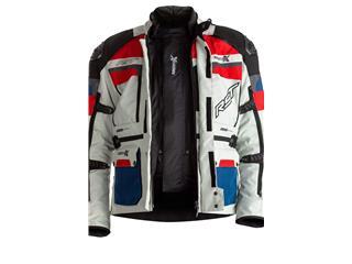 Chaqueta Textil (Hombre) RST ADVENTURE-X Azul/Rojo , Talla 60/3XL - 67e19725-3892-41a6-bbd8-79b26f12f200