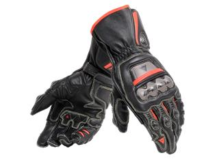 Leather Glove Dainese Full Metal 6 Blk/Red Fluo Sz L