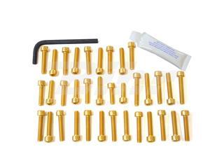 Kit tornillería aluminio motor Pro-Bolt ESU210G Oro - 52546