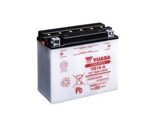 Batterie YUASA YB18-A conventionnelle - 32YB18A