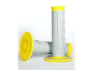 Renthal DUal Grip grips grey/yellow