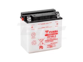 Batería Yuasa YB16B-A Dry charged (sin electrolito)