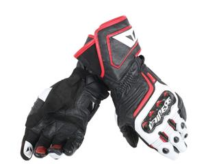 Dainese Carbon D1 Long Gloves Black/White/Red Size L