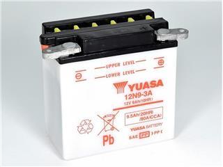 Batterie YUASA 12N9-3A conventionnelle - 3212N93A